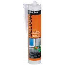 Beldom acryl герметик акриловый белый 300 мл