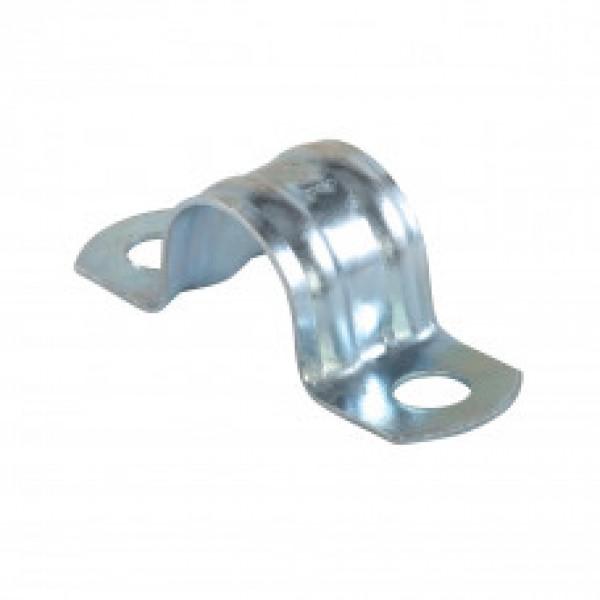Скоба металлическая двухлапковая (оцинкованная) СМД (12)