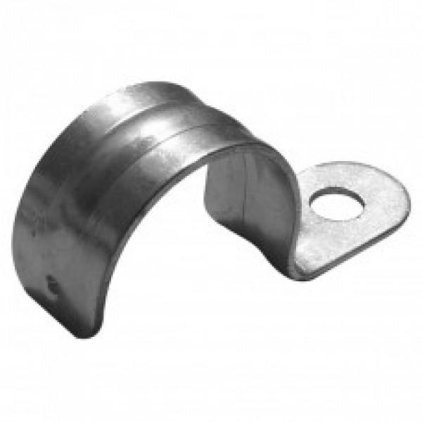 Скоба металлическая однолапковая (оцинкованная) СМ (12)