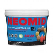 """""""NEOMID Bio Color AQUA"""" Акриловый декоративный деревозащитный состав"""