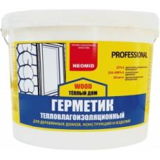 """""""NEOMID Proffesional"""" Герметик по деревянным поверхностям цвета: белый, медовый, сосна, дуб, ТИК."""