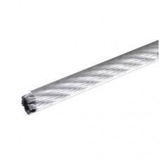 Трос стальной в оплетке ПВХ DIN 3055