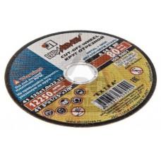 Круг отрезной по металлу LUGA Abrasiv 125x1x22 упак. 25 шт.