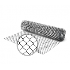Сетка рабица оцинкованная 50х50х2
