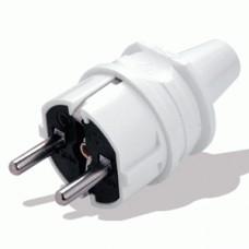 Вилка электрическая с заземлением