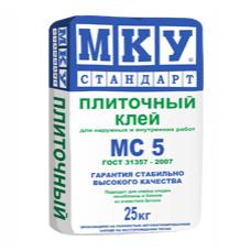 Плиточный клей МКУ МС-5