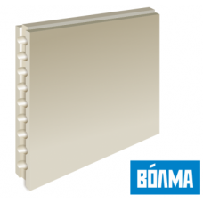 Пазогребневый блок ВОЛМА пустотелый 667х500х80