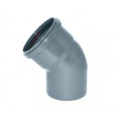 Канализационный отвод 45° 110 мм