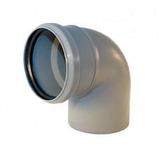 Канализационный отвод 90° 110 мм