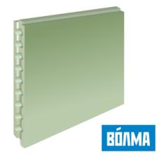 Пазогребневый блок ВОЛМА пустотелый влагостойкий 667х500х80