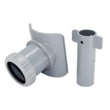 Канализационная врезка диаметром 57 мм в трубу 110х50