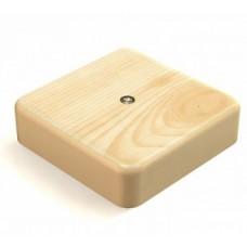 Распаячная коробка 75х75х20 наружная сосна
