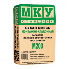 Кладочная смесь МКУ M-200