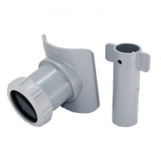 Канализационная врезка диаметром 57 мм в трубу